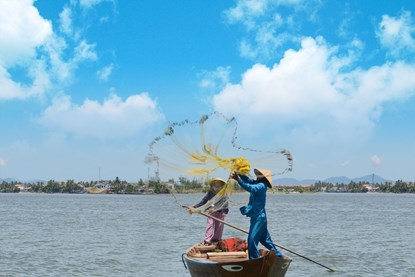 Fishing in Hoi An
