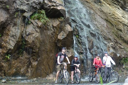 Laos Biking Tour- Kuang Si waterfall day tour