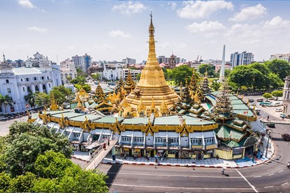 Sule Pagoda -  Yangon Private Tour