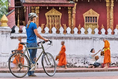 Biking in Luang Prabang - Laos Biking tour