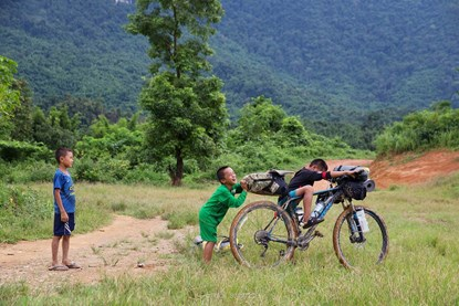 Biking & Trekking Countryside - Laos Full Day Tour