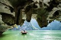 Bamboo boat on Halong Bay - Vietnam Package Tour
