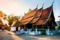 The magnificent Wat Xiengthong in Laos