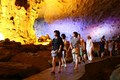 Visit cave in Ha Long