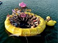 One of the activies in cruise