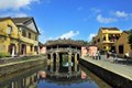 Janpanes bridge in Hoi An