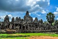 Bayon Temple  from afar