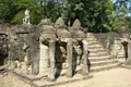 The terrace of the elephants and terrace of the leper king