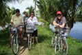 Biking in Cam Thanh village