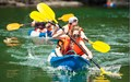 Explore the emerald waters of Halong Bay by kayak