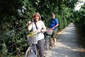 Biking in Tan Phong island