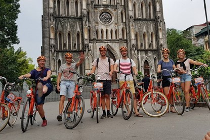 Bikking tour in Ha Noi