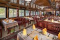 Restaurant in the cruise