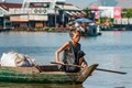 Take a boat in Tonle Sap