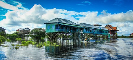 Kompong Phluk Floating Village