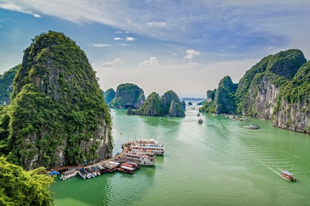Picture for category Ha Long Bay a once-in-a-lifetime destination: US publication